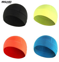 ARSUXE Winter Fleece Cycling Windproof Cap Outdoor Sports Bicycle Bike Running Hats Skiing Bandana Winter Snow Headband