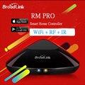 Broadlink rm pro rm rm mini3 2 universal wifi/ir/4g controlador inteligente, interruptor de parede tc2 luz de controle remoto para smart home