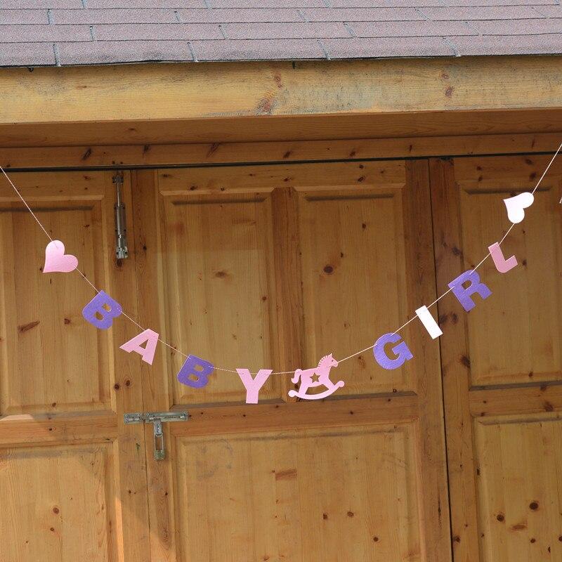 3M Baby Boy Girl Bunting Garland Banner Baby Shower Birthday Party Decoration