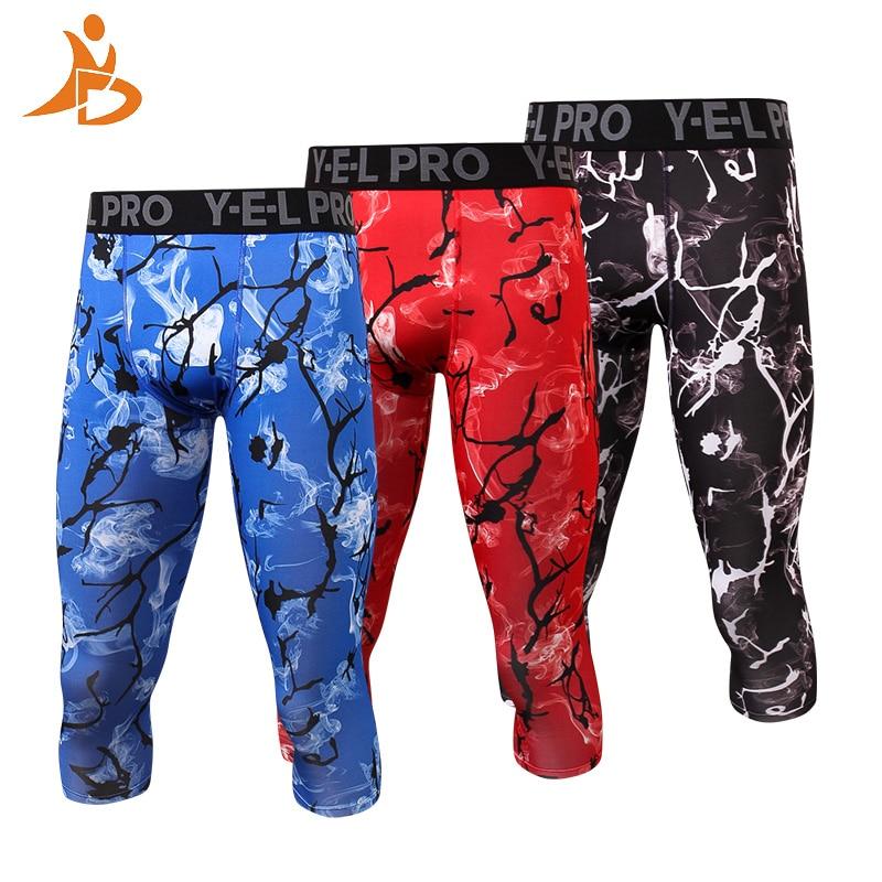 Pantalones de compresión de secado rápido para hombres YD - Ropa deportiva y accesorios