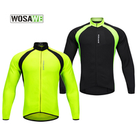 Breathable Long Sleeve Mesh Cycling Jersey Quick Dry UV Protect Bike Clothing Outdoor Runing Sport Tops