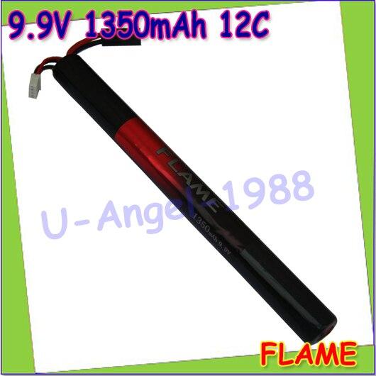 wholesale 1pcs 100% Orginal Flame 9.9V 1350mAh 12C LiFePO4 LFP Stick Type Battery M3E135T Drop shipping