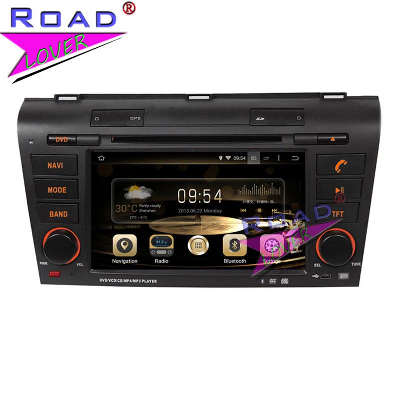 TOPNAVI Octa Core 4G+32GB Android 6.0 Car Media Center DVD Player For Mazda 3 2004 2005 2006 2007 2008 2009 Stereo GPS Navi MP3