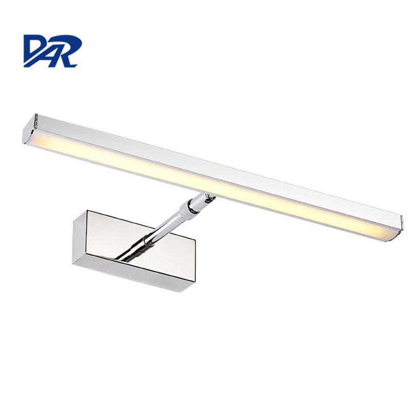 Humanized Design Modern Mirror Light Aluminum Body Adjustable 7W/12W LED Wall Lamp Bathroom Applique Murale Luminaire Wandlamp led modern wall lamp acrylic sconce 6w 12w wandlamp for bedroom bathroom applique murale luminaire mirror wall light fixtures