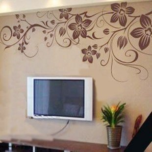 free shipping wholesale and retail home garden wall decor sticker decoration vinyl removeable art mural home