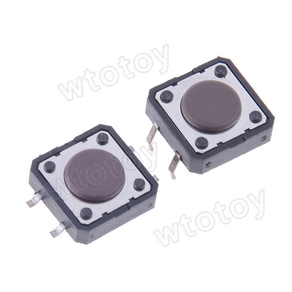Momentary Tactile Tact Push Button Switch 12 x 12mm x 3mm 4Pin DIP 20552