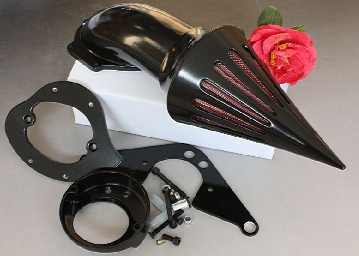 Filtre d'admission de Kits de filtre à Air de pic noir de Moto pour la Moto de l'étoile 1600/1700 de route de Yamaha