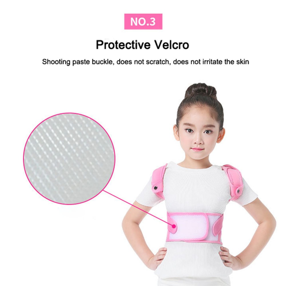 Image 3 - Posture Corrector Breathable durable comfortable Back Shoulder Lumbar Waist Supporting Correction Straighten Upper Children JD19Braces & Supports   -