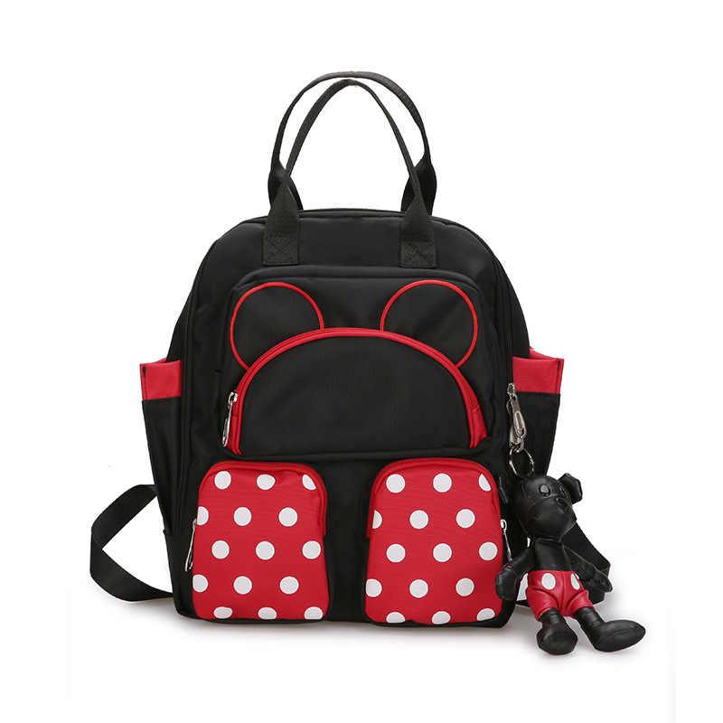 792c645bbd7e Mochila escolar linda de mickey para niños mochilas escolares de dibujos  animados para niños niñas Minnie