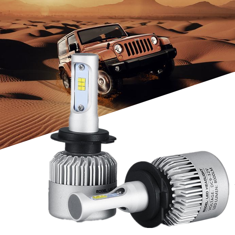 H1 H4 H7 CSP COB Car Led Headlight 12V H11 H3 HB4 Fog Light car styling Headlamp Bulb Auto for BMW Volkswagen Toyota Automobiles auxmart car led headlight h4 h7 h11 h1 h3 9005 9006 9007 cob led car head bulb light 6500k auto headlamp fog light
