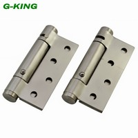 Stainless steel spring hinge door self closing hinge positioning windproof hinge invisible door hinge spring positioning| |   -