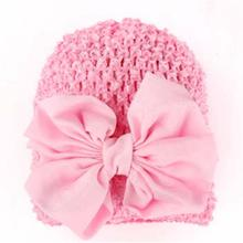 Toddlers Infant Newborn Baby Girl Hat Bowknot Hollow Out Hat Headwear Baby Hat Bonnet Enfant Cappellini Neonato