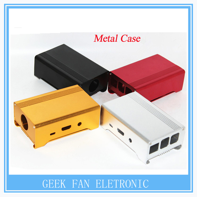 Exclusive sale! Sliver Metal Box - Iron Case For Raspberry Pi 2 With Fan Also Fit For Camera Alu-case metal aluminum case
