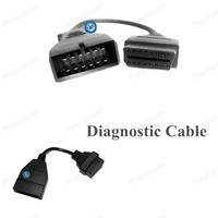 New Hot Sell Car Diagnostic Cable 12pin To 16pin Diagnostic Interface For G-M OBD2 Diagnostic Scanner Cable