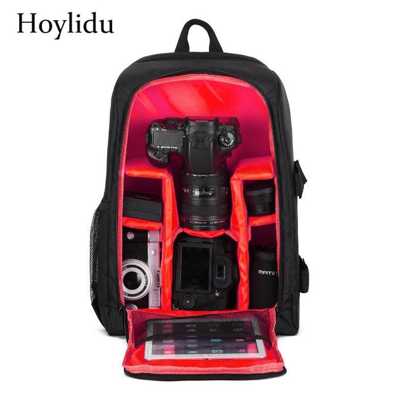 Shockproof Digital DSLR Camera Backpack Men Casual Multifunction Waterproof Video Bag Women Professional Photography Backpacks