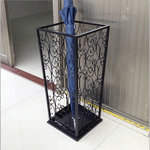 Exceptionnel Wrought Iron Umbrella Stand Household Umbrella Stand Umbrella Storage Rack  French Umbrella Bucket