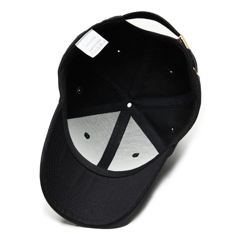Snapback Baseball Caps Solid Men Cap Women's Bones Dad Hats Black Casual Male Baseball Cap for Men Female Cotton  Adjustable Hat (12)