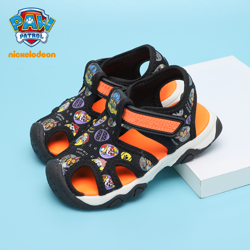 PAW PATROL Sandals Children Shoes For Girls Spring Comfortable Girls Beach Shoes Flat Heel Lightweight Baby Sandals Size 21-30PAW PATROL Sandals Children Shoes For Girls Spring Comfortable Girls Beach Shoes Flat Heel Lightweight Baby Sandals Size 21-30