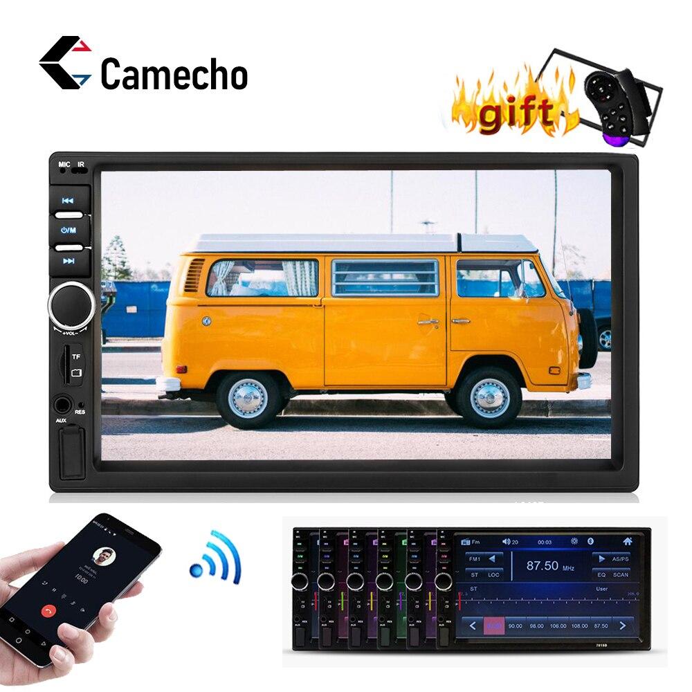 Camecho Autoradio 2Din Car Radio 7