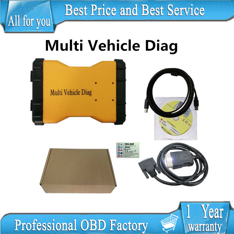DHL 2017 Multi Vehicle Diag mvdiag MVD 2015.3 R3 with keygen VD TCS CDP Pro LED 3IN1 with ne-c relay no Bluetooth