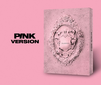 [MYKPOP] ~ 100% ORIGINAL officiel ~ BLACKPINK Mini 2 tuer cet Album d'amour CD + livre Photo KPOP Fans Collection SA19061102-rose Ver.