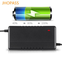 Output voltage 42V 3A smart LED display lithium battery charger for 36V 3A Balance bike/e bike/scooters/unicycle charge