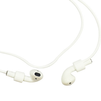 Earphone String Cable Anti-lost Silicone Strap Wire Earphone Holder Connector Neckband for Apple Airpods iPhone 7 wire