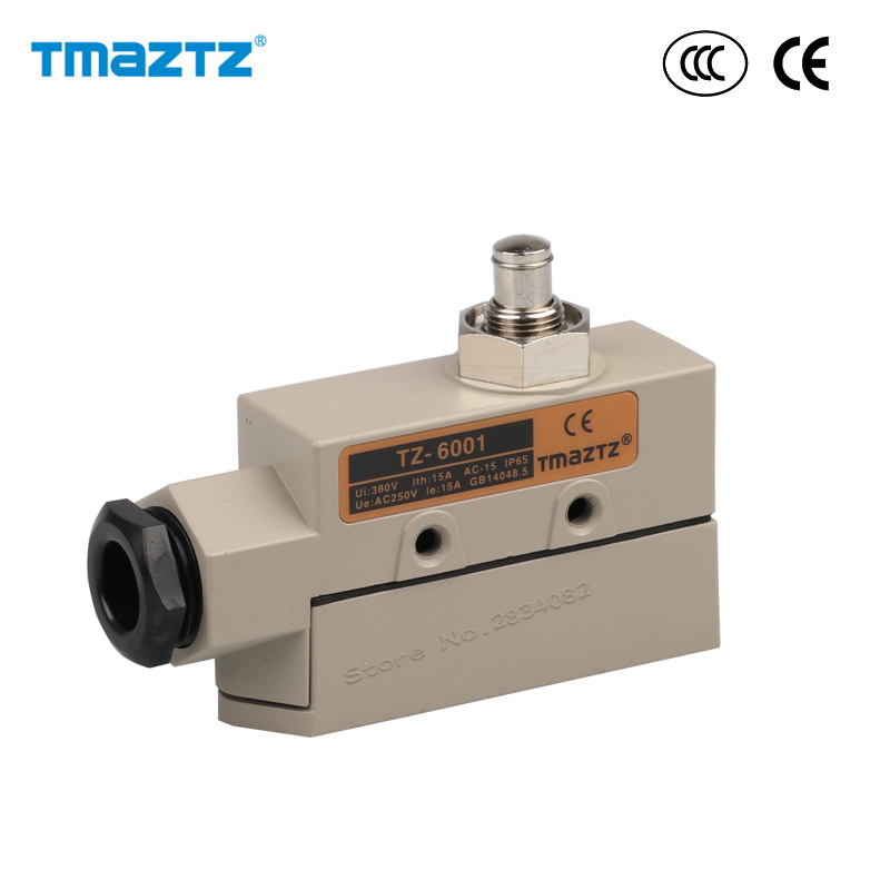 Sealed Limit Switch 1no 1nc 380v Metal Punch Head Reset
