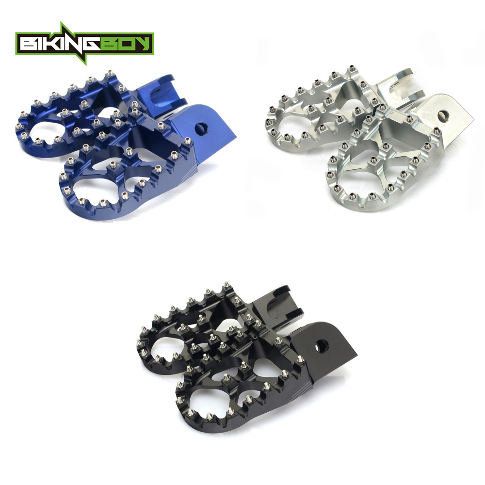 BIKINGBOY For BMW F650GS 2000-2012 F700GS 2013-2014 F800GS 2008-2013 F1200GS 2004-2012 MX Motocross Aluminum Foot Pegs FootpegsBIKINGBOY For BMW F650GS 2000-2012 F700GS 2013-2014 F800GS 2008-2013 F1200GS 2004-2012 MX Motocross Aluminum Foot Pegs Footpegs