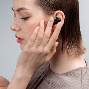 Image 5 - מקורי Xiaomi Redmi AirDots 2 אלחוטי Bluetooth 5.0 אוזניות סטריאו באוזן בס אוזניות עם מיקרופון שמאל ימין נמוך פיגור מצב