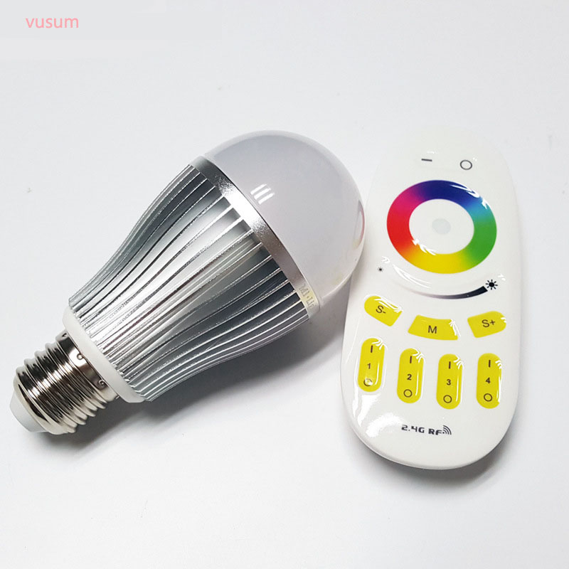 LED Bulb E27 9W 12W RGB + White Warm White Adjustable WIFI Smart LED Bulb Light AC85-265V high quality 9w epistar led spot bulb e27 base par38 led light 900lm white ac85 265v ce