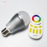Led-lampe E27 9 Watt 12 Watt RGB + Weiß Warmweiß Einstellbar WIFI Smart Led-lampe Licht AC85-265V