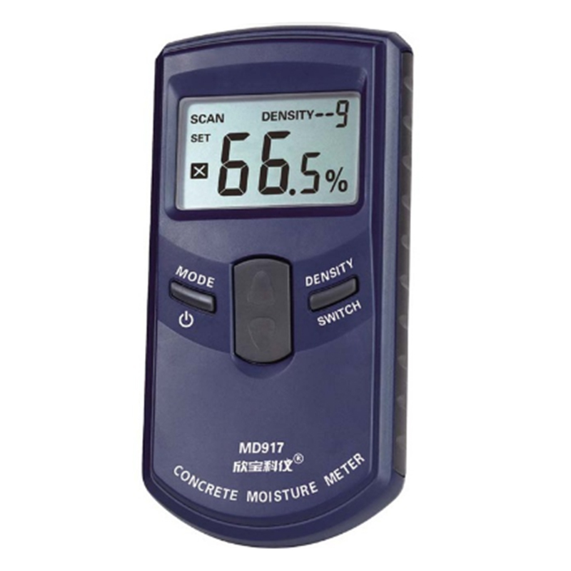 THGS Xinbaokeyi Concrete wall moisture meter detector MD917 Metope humidity tester range 0-40%