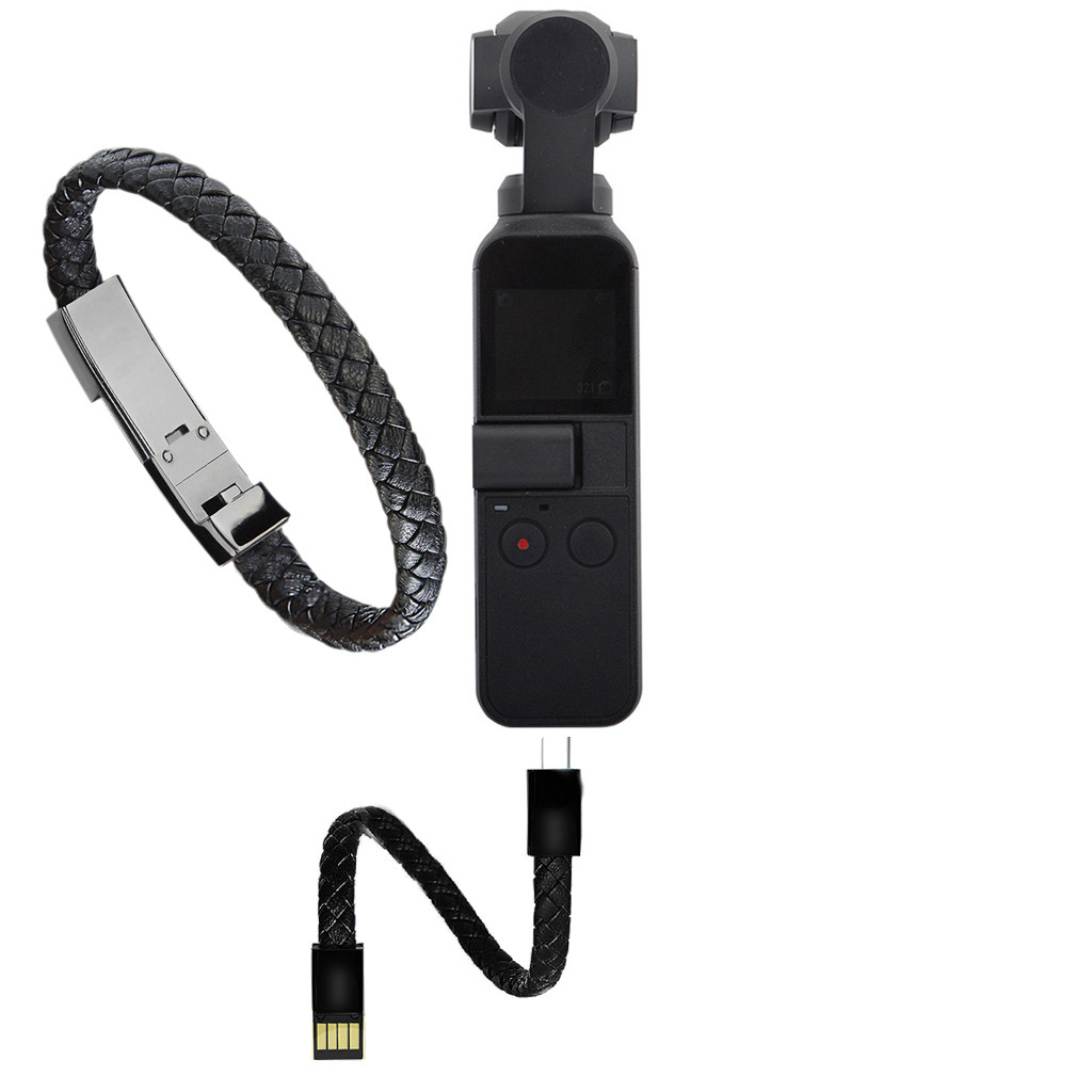 Sport Wristband Type-C Charger Cable Data Line Wire Cable For DJI OSMO Pocket