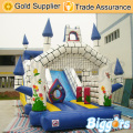Inflatable Biggors Commercial Inflatable Slide Combo Obstacle Course PVC Bouncy Castle