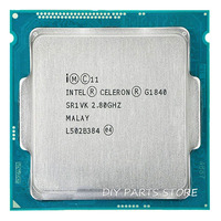 Intel Celeron Dual-Core G1840 processore CPU 2.8 GHz Dual-Core 2 MB LGA1150 TPD 53 W RAM DDR3 1333 1 anno di garanzia