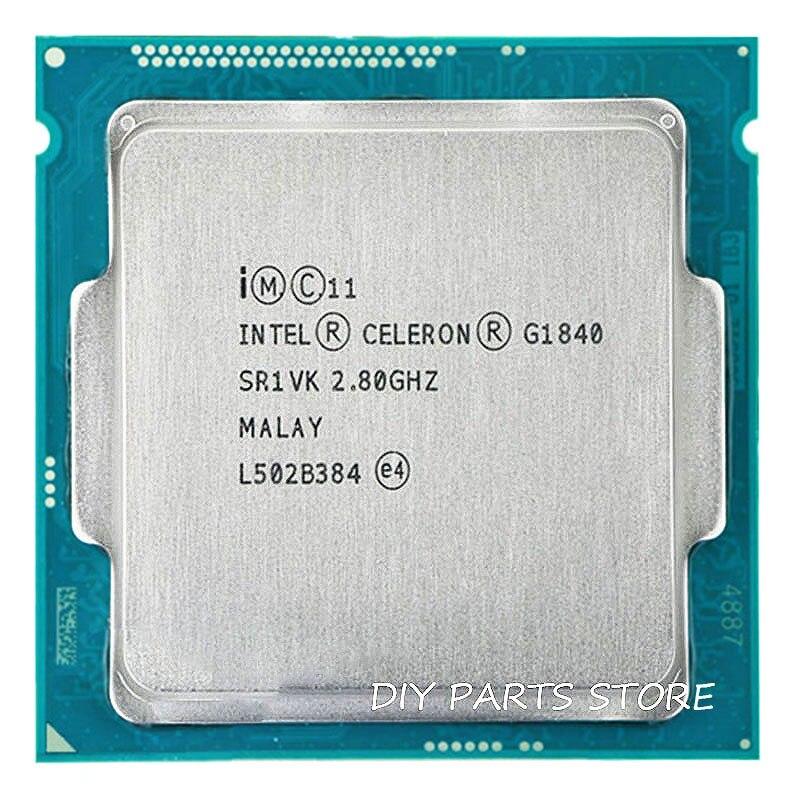 Intel Celeron Dual-Core G1840 CPU processor 2.8GHz Dual-Core 2 MB LGA1150 TPD 53W RAM DDR3 1333 1 year warranty