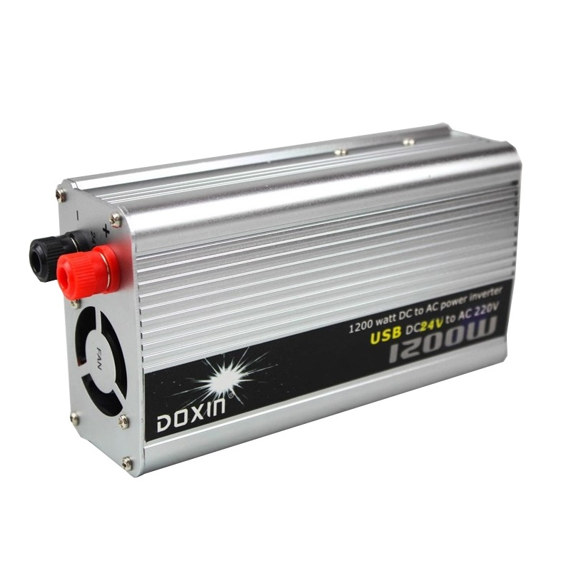 DOXIN power inverter 1200w with USB 24v to 220v power inverter
