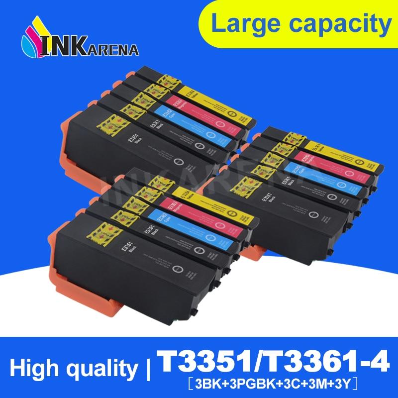 15 шт., чернильный картридж для принтера Epson T33 33XL XP 530 XP 540 XP 630 XP 635