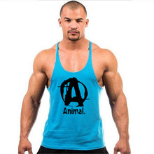 clothing Fitness Tank Top Men Stringer Golds Bodybuilding Muscle Shirt
