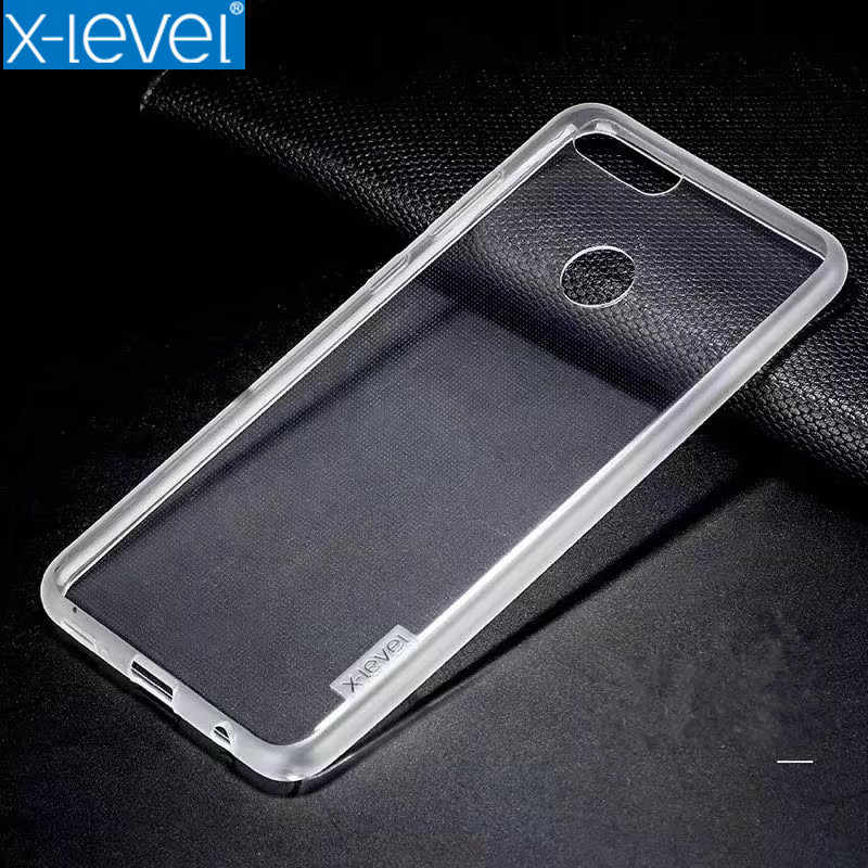 Honor Enjoy 7s Enjoy 8 Enjoy 8 Plus X-Level Crystal Clear Phone Case For Huawei Y6 Y9 2018 Ultra Thin Protective Soft TPU Cover