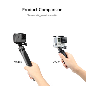 Image 2 - Vamson ل شاومي ترايبود Selfie عصا آيفون ل DJI osor عمل الكاميرا الرياضية Yi 4K اكسسوارات ل Gopro بطل 7 6 5 VP423
