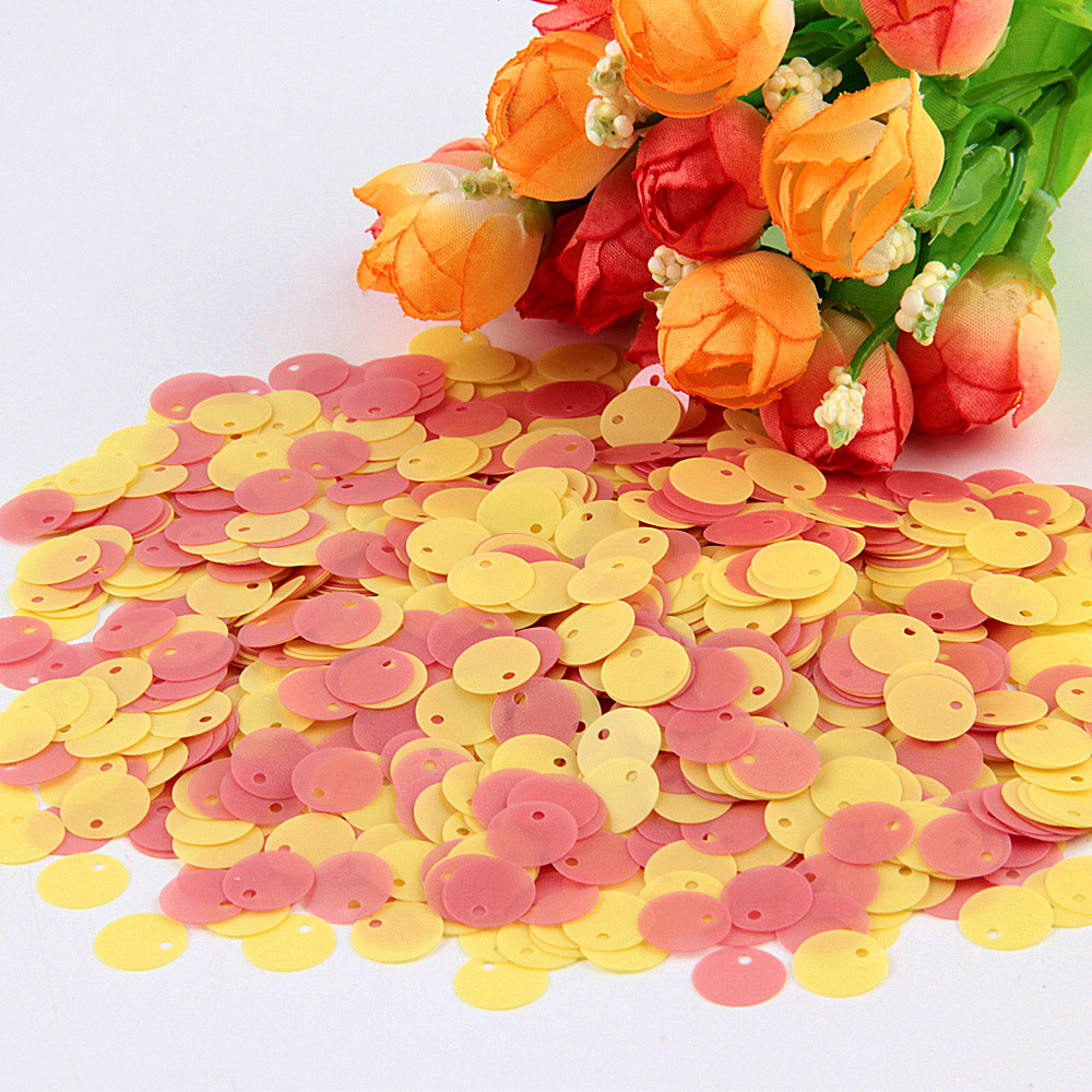 Home & Garden 1000pcs Blue 5*32mm Chilli Ivory Shape Sequins Paillette Sewing Craft For Costume Stage Garment Embellishment Accessories Be Friendly In Use