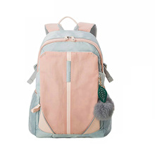 Fashion Women Student Backpacks Solid Nylon Waterproof Students Backpack New Lightweight Breathable Bag Travel Causal