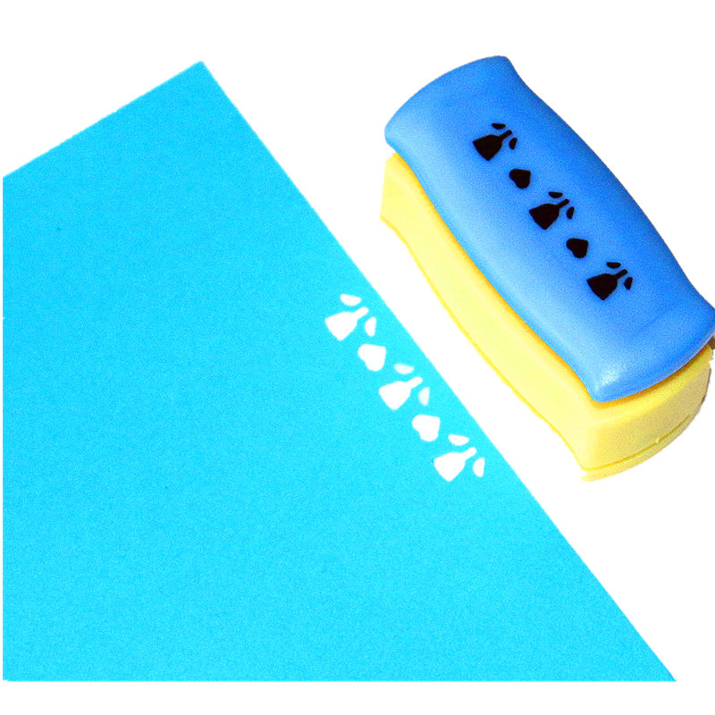 Flowers Furadores Artesanais Craft Punch Embossing Diy Border Punch Edge Lace Punch For Card Making Scrapbooking R3190