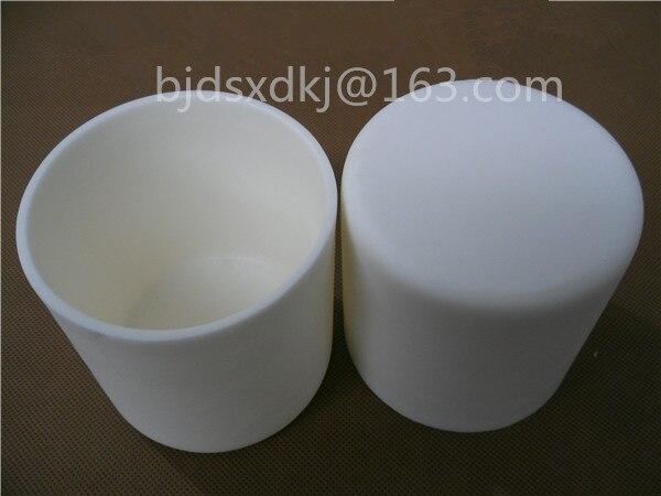 99.3% alumina crucible / 800ml / cylindrical corundum crucible / ceramic crucible цена
