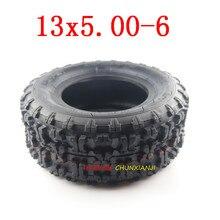 Бескамерная шина, размер 13x5.00-6 дюймов, для квадроциклов, квадроциклов, скутеров Gokart, мини-багги, косилок, снегоочистных мотоциклов, часть вак...