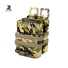Free Shipping FMA Airsoft Tactical Heavy 5.56 Magazines Ammo Pouch Bag Transfer FAST Magazine Holster Set TB1192-AOR2/AOR1