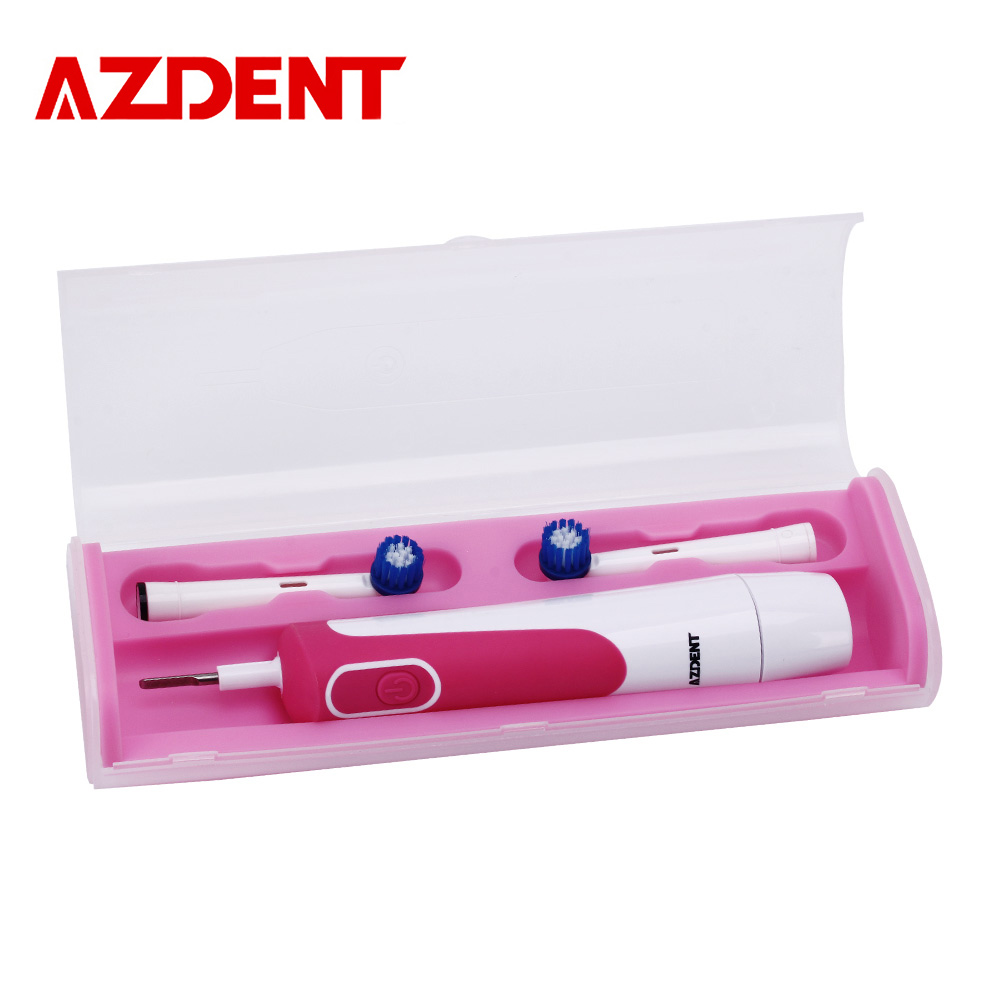 AZDENT Electric Toothbrush for Adults Toothbrush Rotating Type Teeth Tooth Brush Battery Teeth Whitening with Replacement Heads