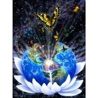 3D Diy Diamond Painting Cross Stitch 5D Diamond Embroidery Van Gogh Starry Sky Universe Square Full